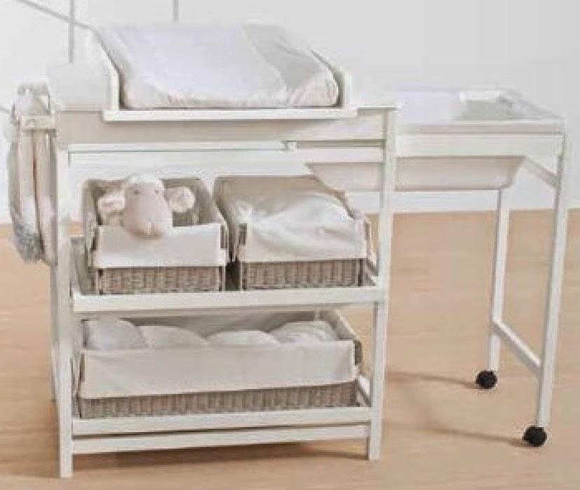 Incre ble banera mueble cambiador motivo ideas de for Mueble cambiador para bebe
