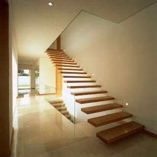 stair shape modern house design of dynamic