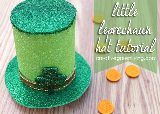 saint patrick s day crafting little leprechaun hat tutorial