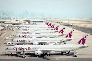 Những chiếc máy bay Qatar Airways