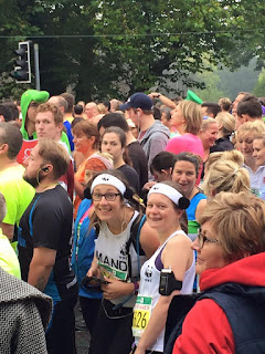 Team Panda at the Cardiff Half Marathon