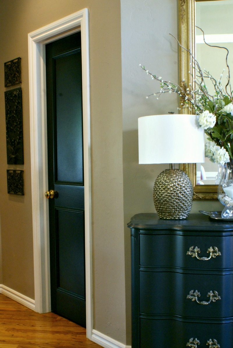 Black Interior Doors : Black interior doors dimples and tangles