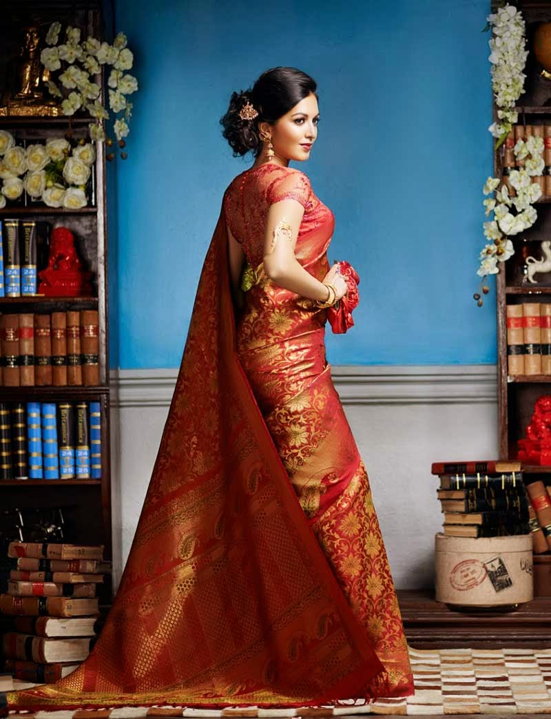 South Indian Bridal Saree