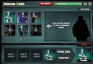 Mobsters Criminal Empires Prison Yard Screen