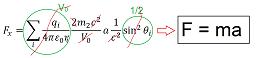 F=ma finally derived!