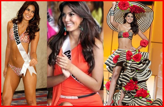 Sunday diversion: Is Miss Colombia going commando any way to win the