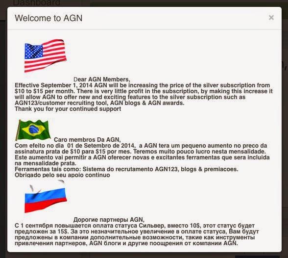 novità per Argent Global Network - aumento silver membership