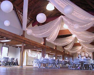 Wedding decoration for ceilings 1