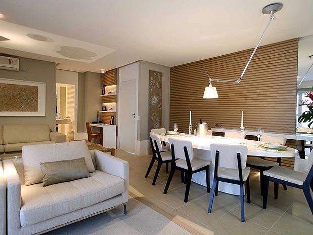 decorar sala branca:Mesa De Jantar