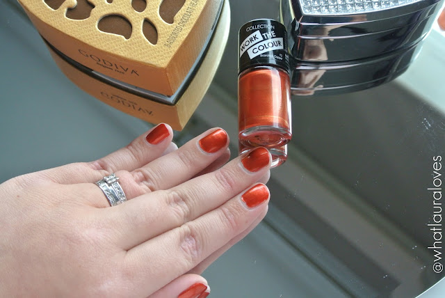 Collection Work The Colour Nail Polish in Scorched Copper Autumn Fall