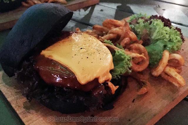 black monster burger score the roof first avenue bandar utama pj