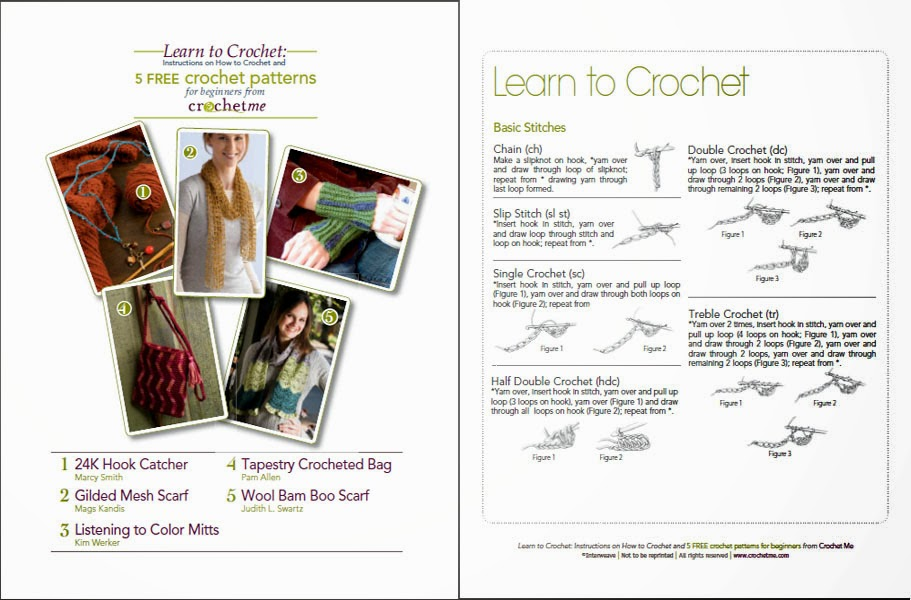 Crochet Magazine Free Download : ... Magazine Scans: Free craft book download : BASIC CROCHET FOR BEGINNERS