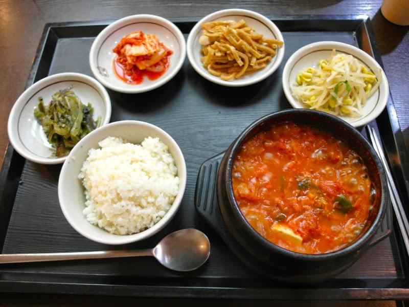 Ewha Summer Studies Kimchi Stew Seoul South Korea lunarrive travel blog