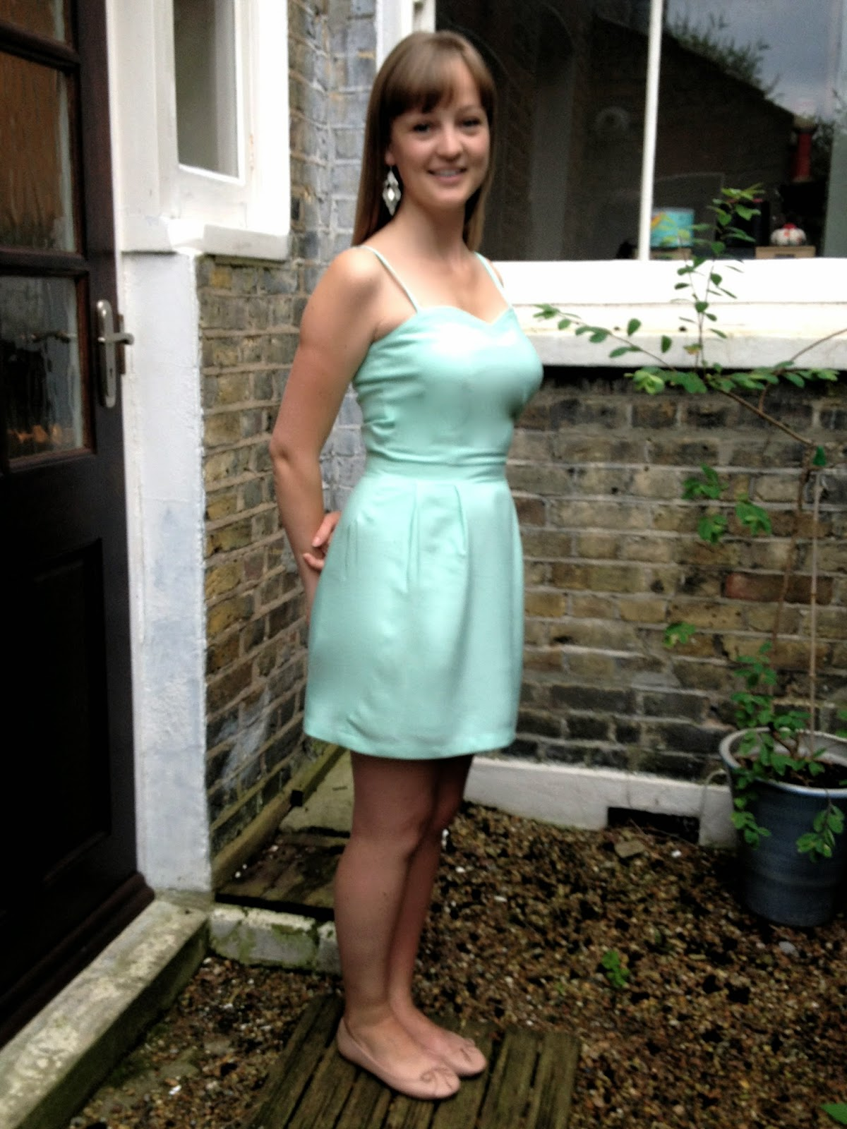 Diary of a Chainstitcher: Salme Sewing Patterns Silvia Sundress in Christian Dior Silk Blend