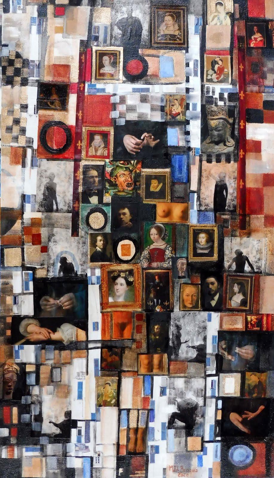 Galerie de portraits - 40 x 70 cm - 2020