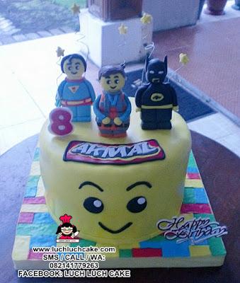 Kue Tart Lego Daerah Surabaya - Sidoarjo