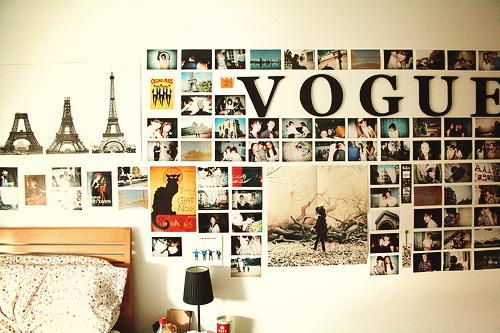 Como decorar tu habitaci n con fotograf as - Decoracion habitaciones tumblr ...