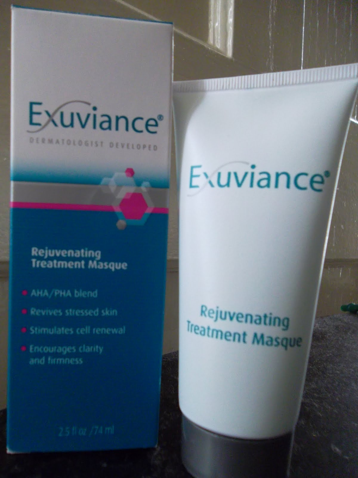 exuviance peel off mask