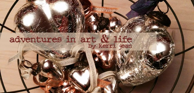 adventures in art & life by Kerri