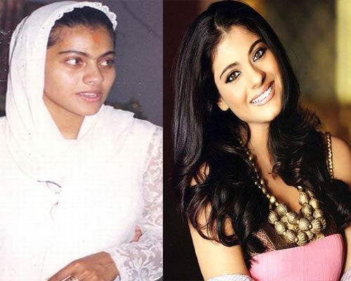 actress without makeup. Kajol without Make Up