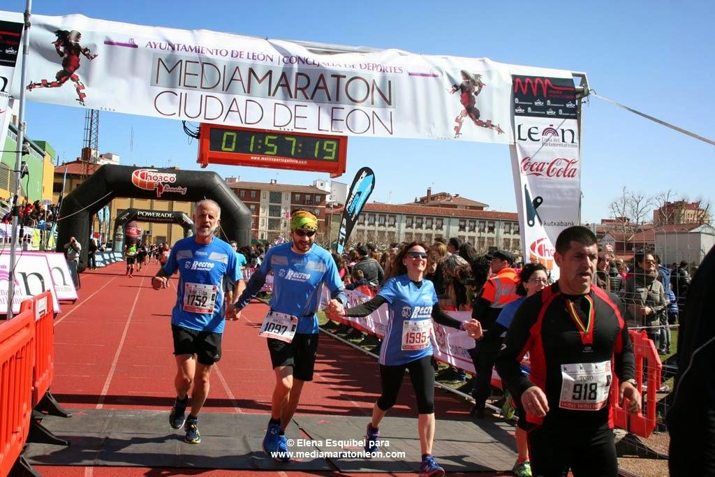 Fotografias de la Media Maraton de León