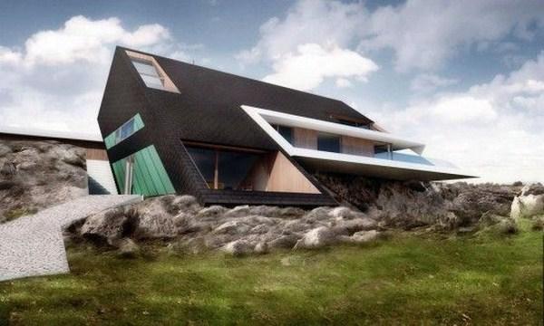 Futuristic and unique concept for home designs ayanahouse for Futuristic house ideas