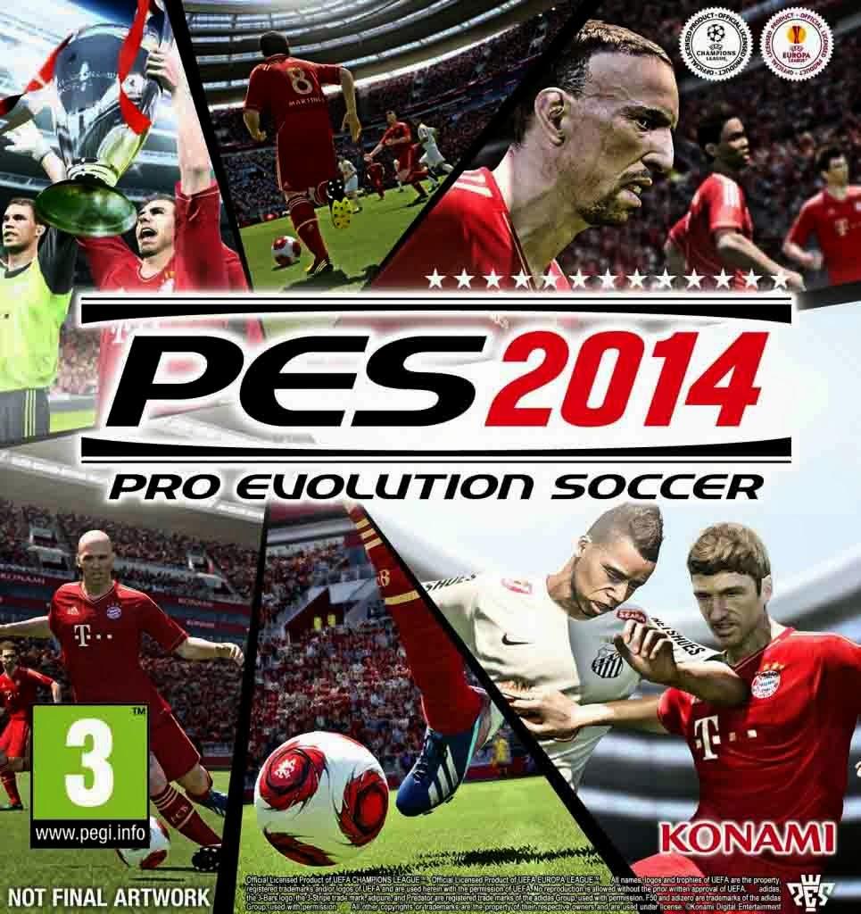 pes 2014 pc full version pes 2014 adalah versi paling update dari pro ...
