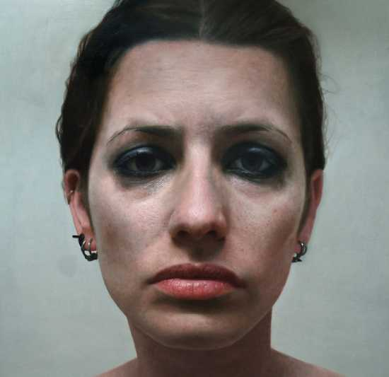eloy morales pinturas hiper-realistas retratos rostos coloridos tinta