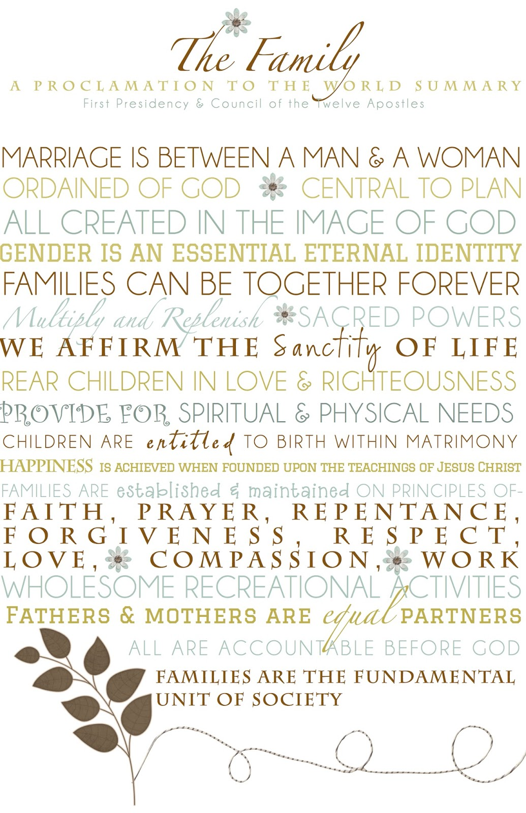 graphic about The Family a Proclamation to the World Printable referred to as Mormon Mother Planners - Month to month Planner/Weekly Planner: Family members