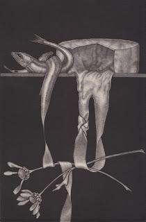 Mezzotint Exquisite Corpse
