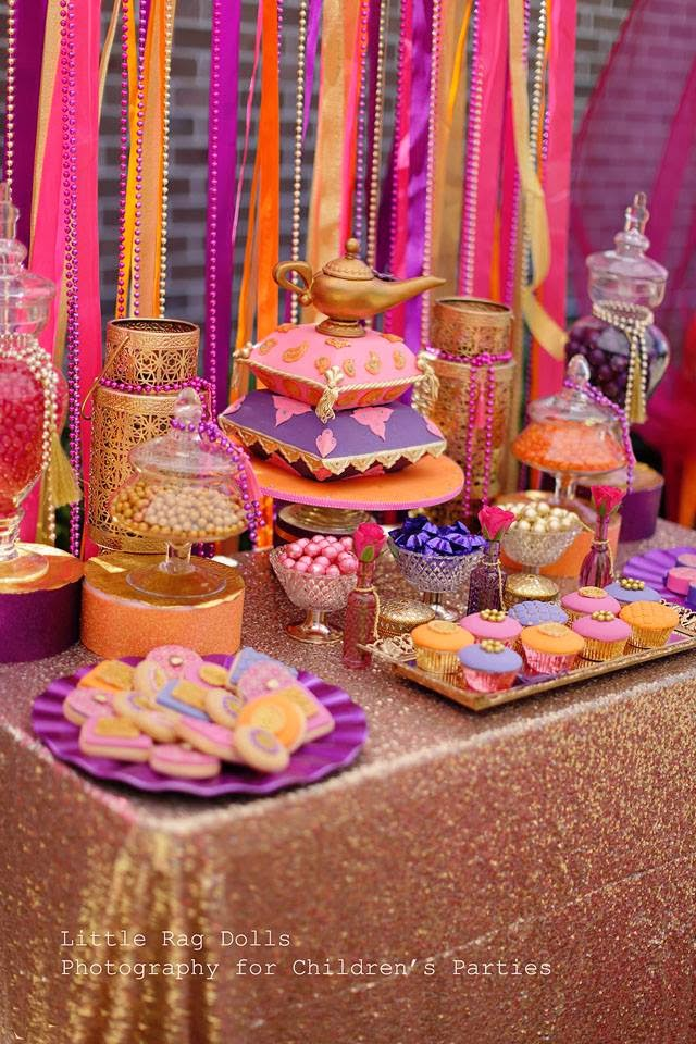 blog sweet party theme moroccan