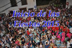 INICIO FIESTAS 2015