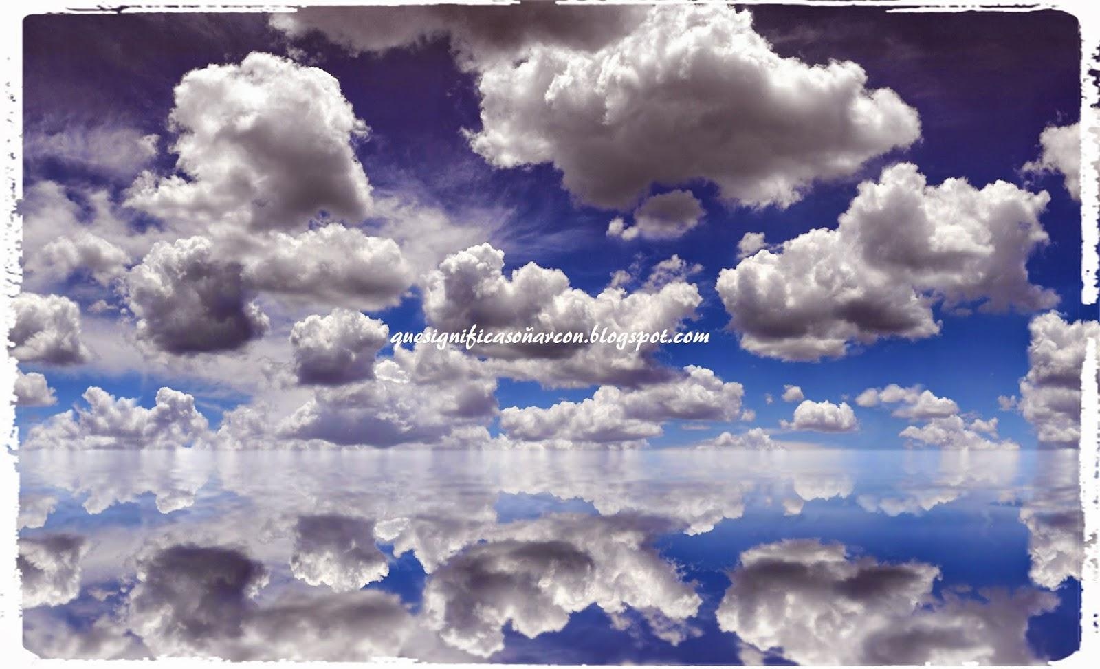 porque soñamos con nubes