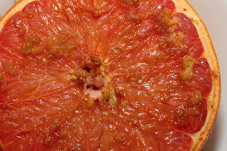 Broiled Grapefruit with Ginger