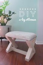 DIY Ottoman Legs