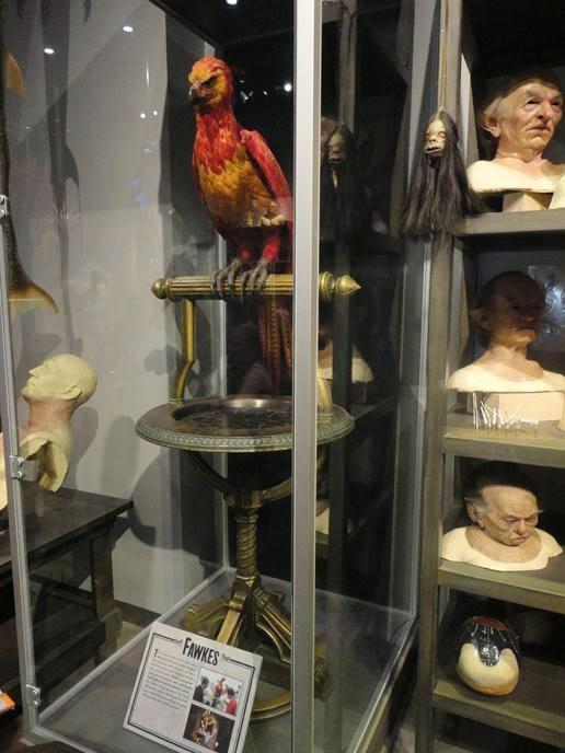Fawkes - Visitando os Estúdios de Harry Potter em Londres