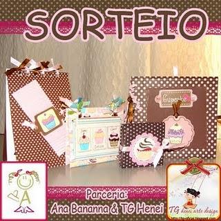 Sorteio - TG Henei Arte Design!