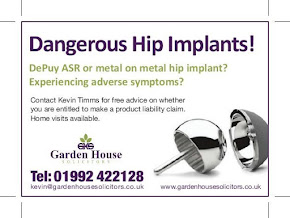 Metal on Metal Hip Implant Claims