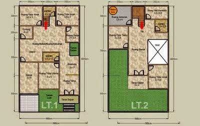desain rumah berlantai 2 minimalis desain properti indonesia