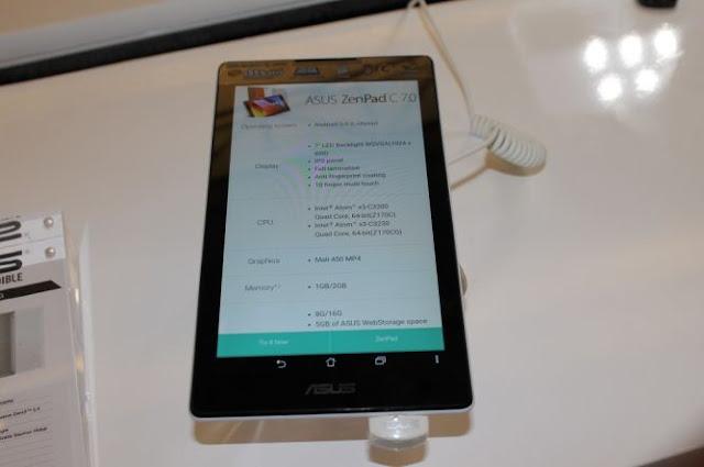 Spesifikasi Mumpuni ASUS ZenPad C 7.0