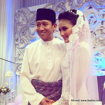 gambar video majlis nikah pernikahan fasha sandha jejai