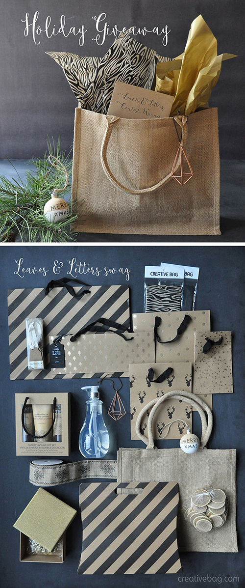holiday giveaway | Creative Bag