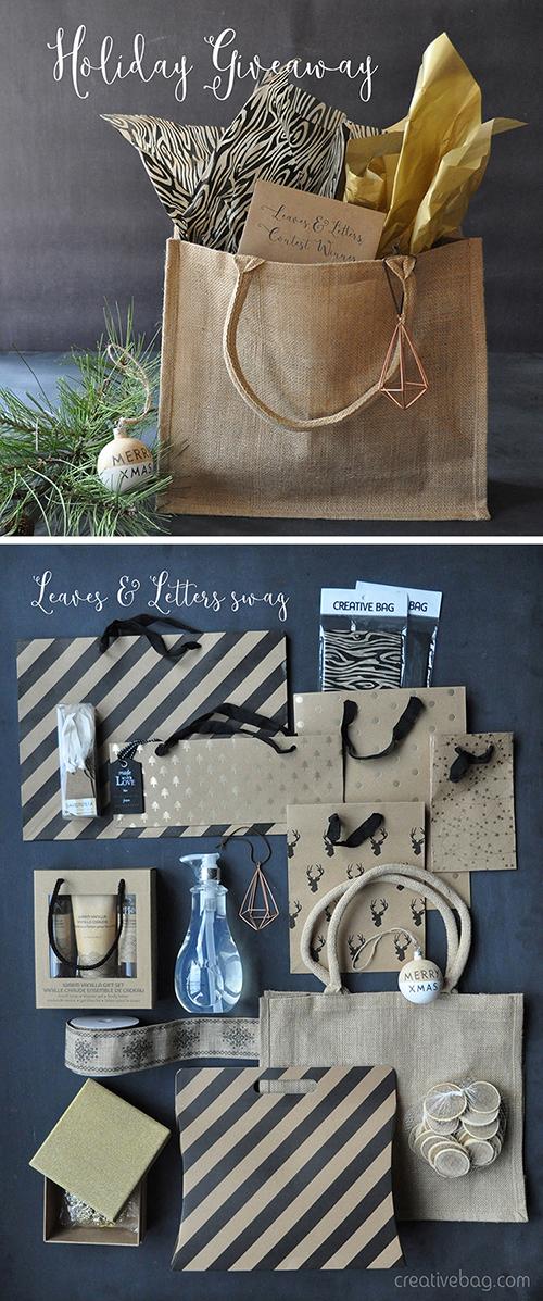 holiday giveaway | Creative Bag
