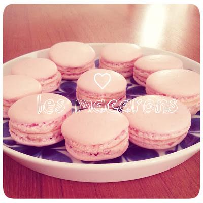 ♥ Macarons