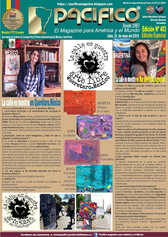 Revista Pacifico N° 403 Edición Especial México y Argentina