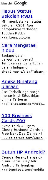 Ads Panjang