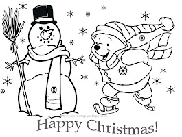 Free Minion Christmas Coloring Pages