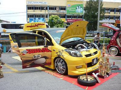 Modified Perodua Myvi Kungfu Panda