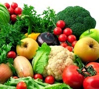 raw vegetables