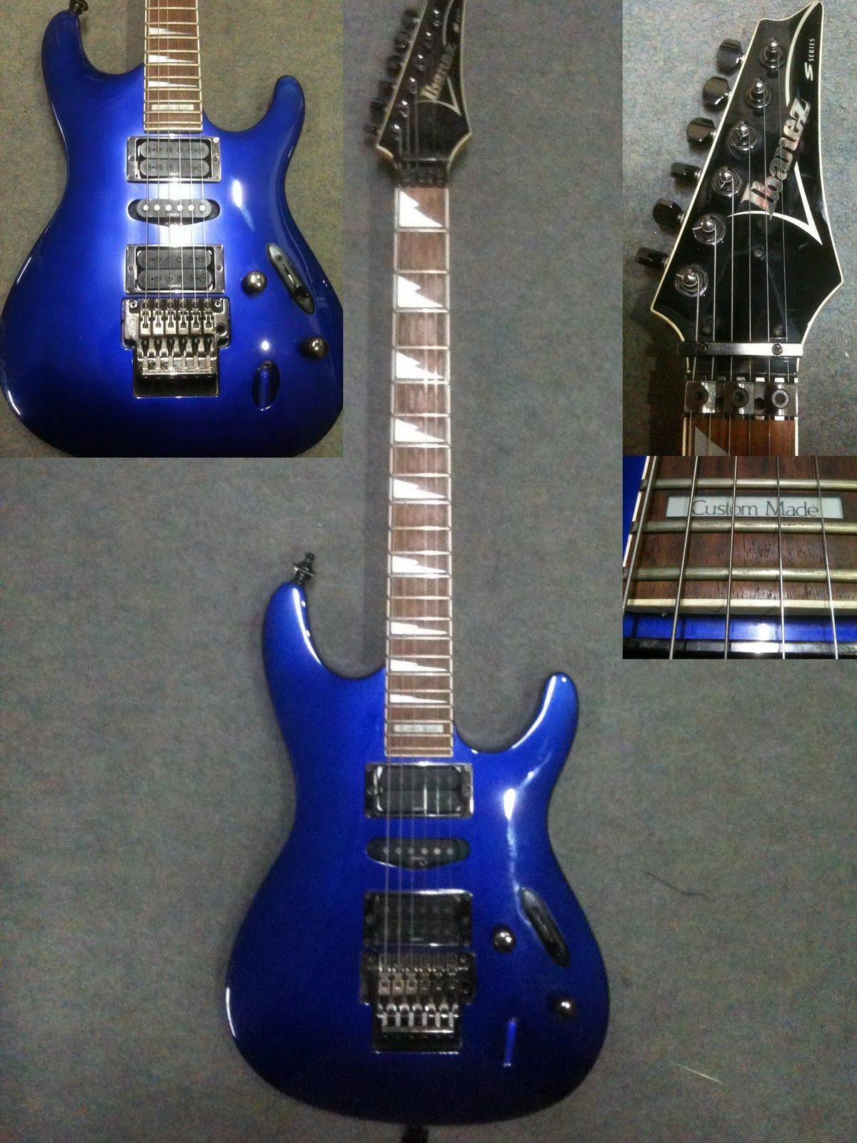 Dorable Ibanez Rg760 Blue Ornament - Everything You Need to Know ...